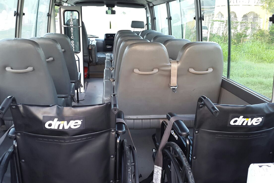 wheel chair bus