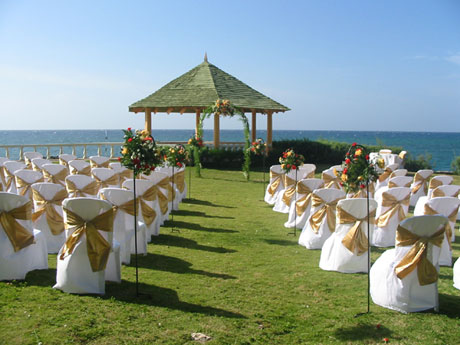 photos of wedding villa design and decorations